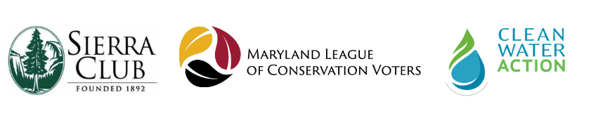 Interview with the Sierra Club, Maryland's League of Voters and the Clean Water Action Committee
